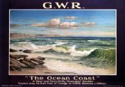 Vintage Travel poster, Great Western Railway, The Ocean Coast
